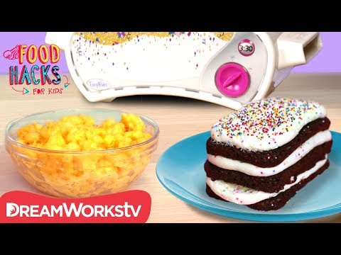 Easy Bake Oven Challenge | FOOD HACKS FOR KIDS