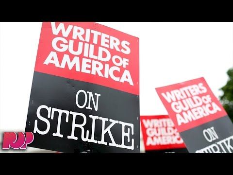 A Writer's Strike May Halt Production On Your Favorite TV Shows
