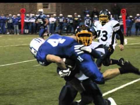Chris Hogan High School Football Highlights