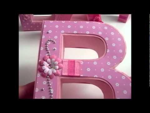 Gut gemocht 3D Buchstaben aus Karton - YouTube FE49