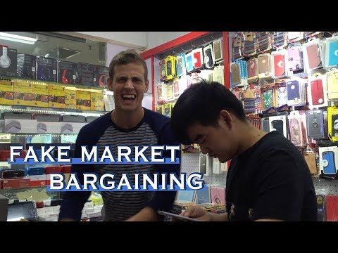 Haggling in Shanghai, China  -- w/ VASEK POSPISIL