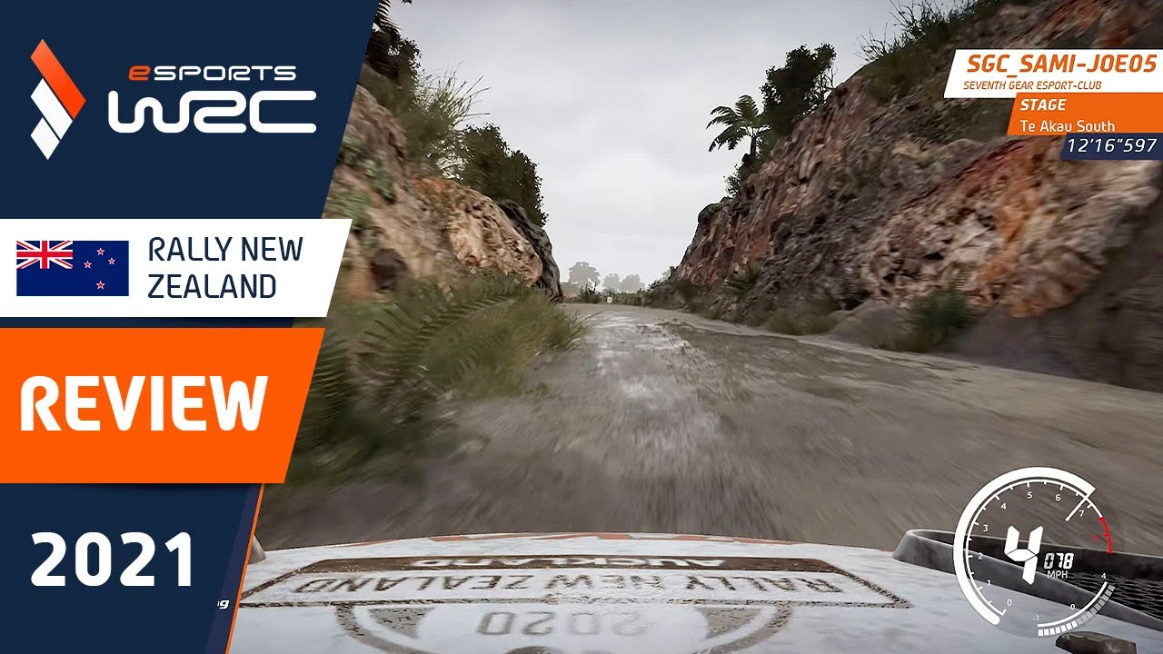 Sami-Joe Winning Run: Te Akau South - eSports WRC 2021