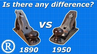 Vintage Stanley Planes: Is older really better?