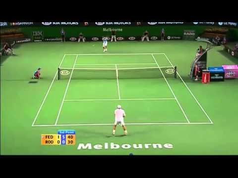 Federer vs Roddick - AO 2007 - Highlights