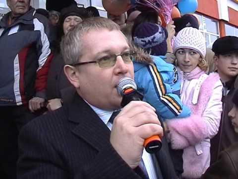 "Кузнецк, декабрь 2006, Открытие ТЦ ""Гулливер"""