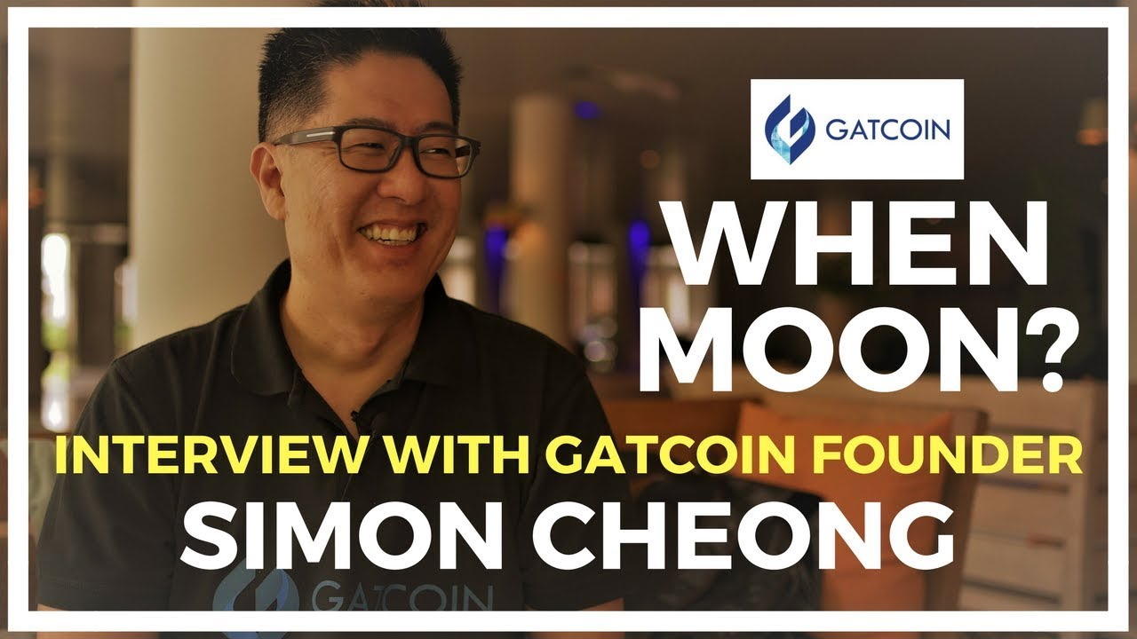 Interview With Gatcoin Founder Mr  Simon Cheong - CoinGecko TV