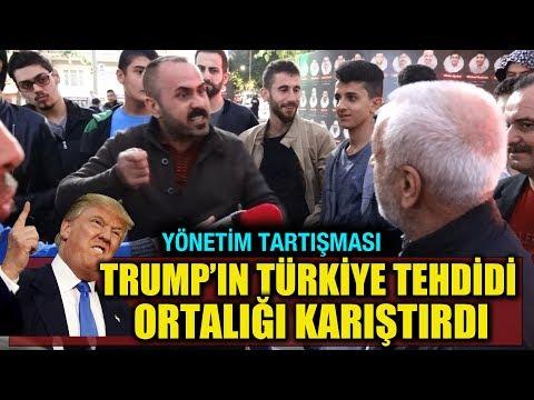 Trump Türkiye'yi tehdit etti, vatandaş çıldırdı!