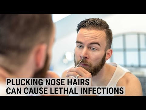 Plucking Nose Hairs Can Cause Lethal Infections