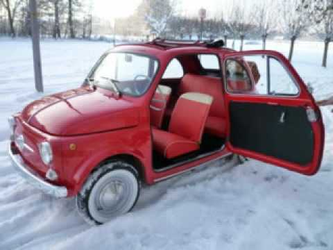 fiat 500 for sale 30 fiat for sale and oldtimers for sale. Black Bedroom Furniture Sets. Home Design Ideas