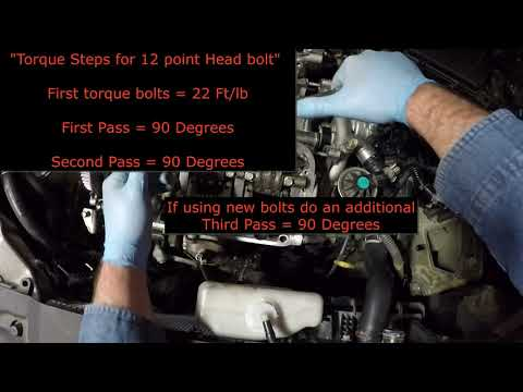 "2007 Acura TL Type S 3.5L Head Gasket Install.. ""Part 1"""