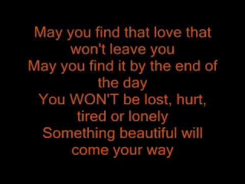 Robbie williams- something beautiful lyrics