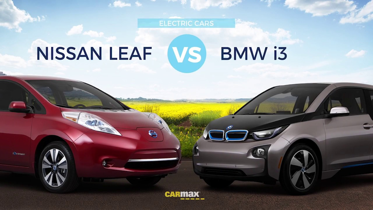 Used Bmw I3 Electric Vs Nissan Leaf An Car Comparison