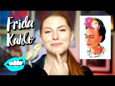 Drawing Frida Kahlo // Rad Portraits with Beth Be Rad #13 | Snarled |