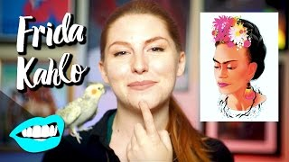 Drawing Frida Kahlo // Rad Portraits with Beth Be Rad | Snarled