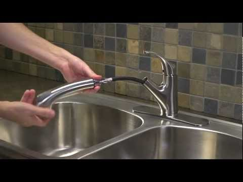 How To Fix A Leak In A Kitchen Pullout Faucet
