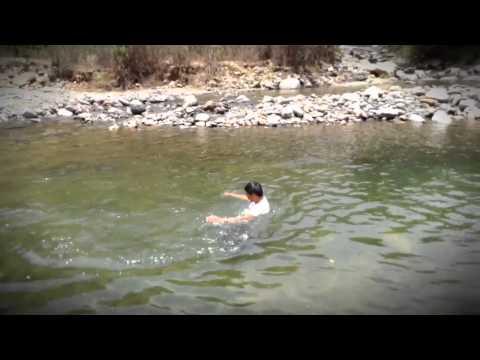 Río San Cristóbal el alto en San Mateo Piñas, Poch