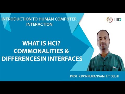 Lecture 2 - Introduction to Human Computer Interaction