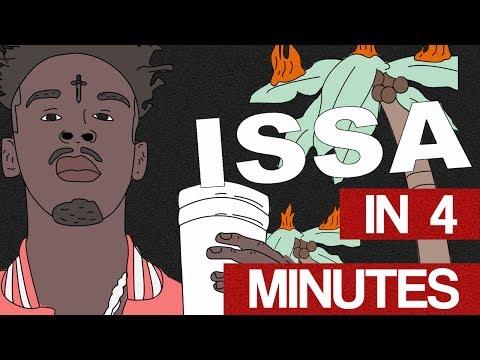 Cover Art In 4 Minutes - ISSA Album