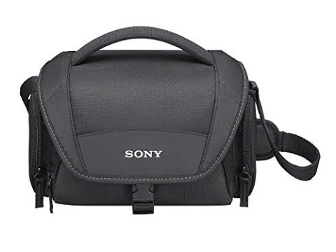 sony-lcs-u11-soft-carrying-case-for-camcorders-unboxing