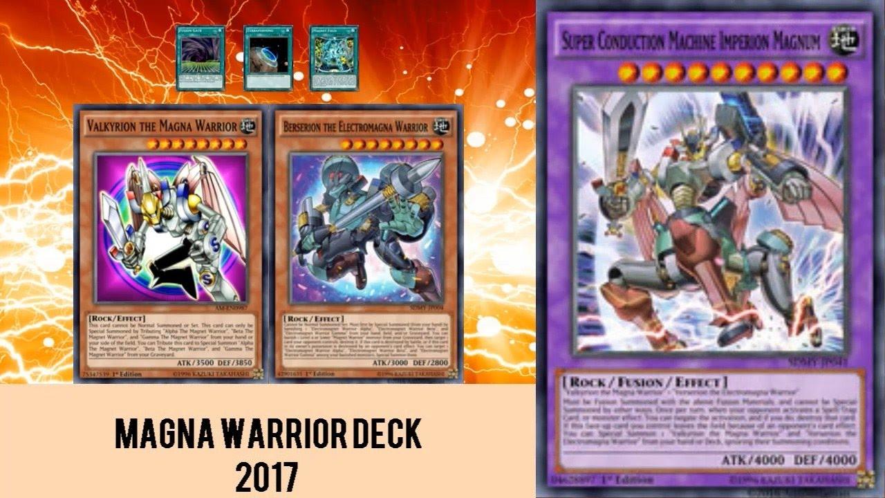 Yugioh Magnet Warrior Deck Build
