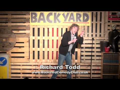 Richard Todd   Live at The Backyard Comedy Club in Bethnal Green, East London