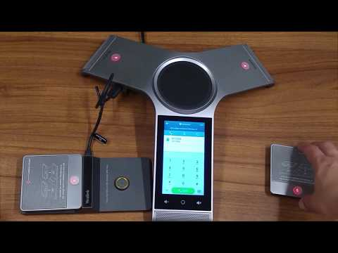 Yealink CP960 ip conference phone unboxing & first look