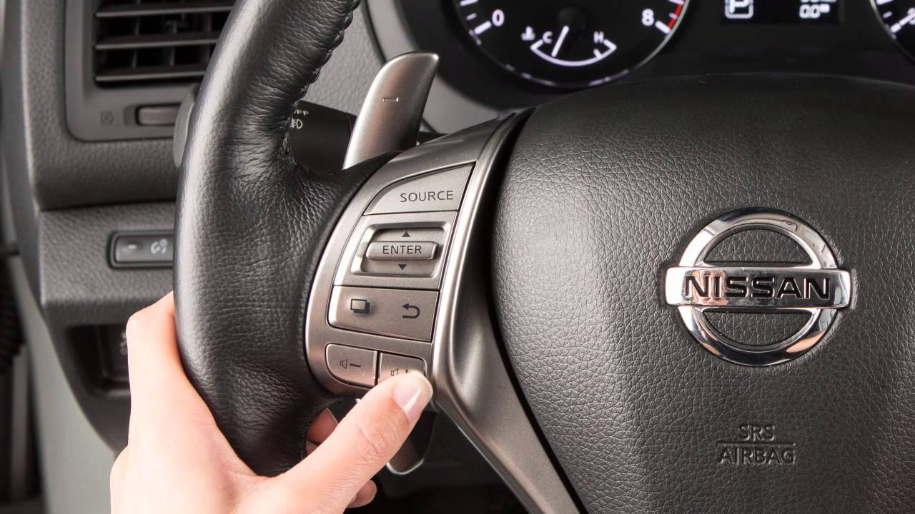 2015 Nissan Altima - Steering Wheel Audio Controls (if so equipped)