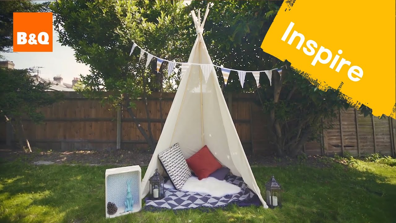 how to make a teepee youtube. Black Bedroom Furniture Sets. Home Design Ideas