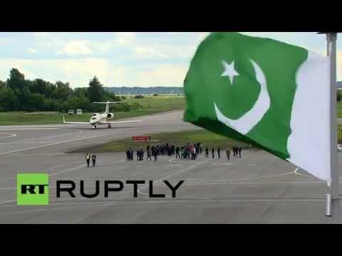 Russia: Pakistani PM Sharif touches down in Ufa for SCO summit