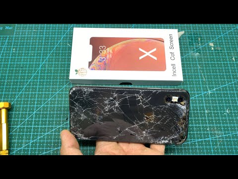 Restoration Destroyed iPhone X | rebuild New Body 2020 from YouTube · Duration:  20 minutes 2 seconds