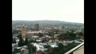Early morning wakes up Tbilisi