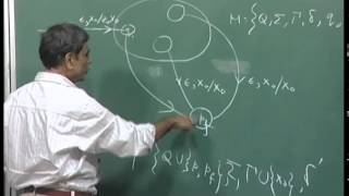 Mod-01 Lec-33 Equivalence of acceptance by empty stack and acceptance by final state.