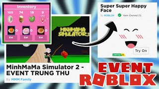 "EVENT CENTRAL COLLECTS ROBUX FROM THE GAME ""MINHMAMA SIMULATOR 2"" 
