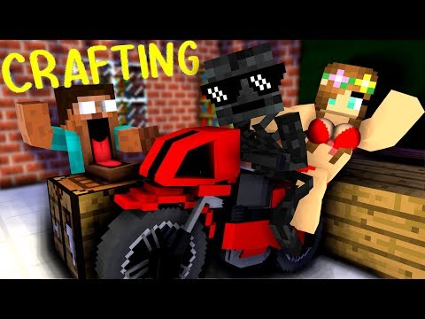 Monster School: Crafting - Minecraft Animation