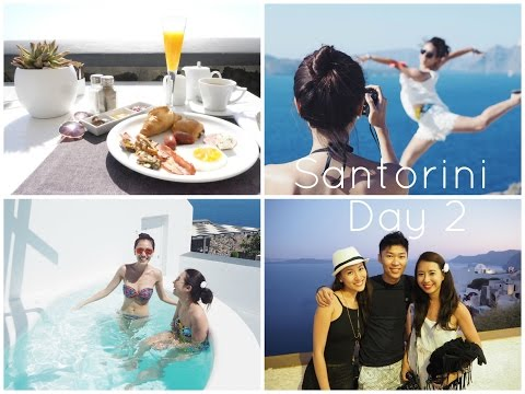 Santorini Day 2 | Red Beach and Oia