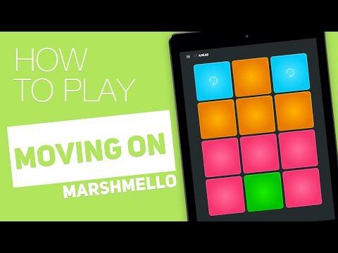 How to play: MOVING ON (Marshmello) - SUPER PADS - Ahead Kit