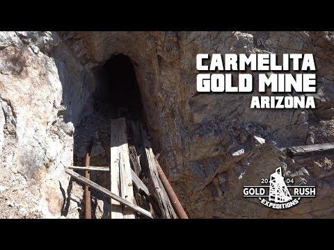 Carmelita Gold Mining Claim - Arizona - 2017