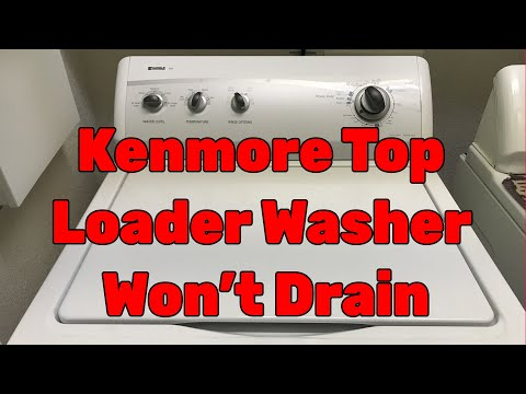 Kenmore Washer Fills With Water Then Stops