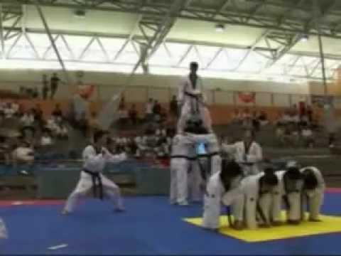 1st PA-STF Taekwondo Championship - Demonstration