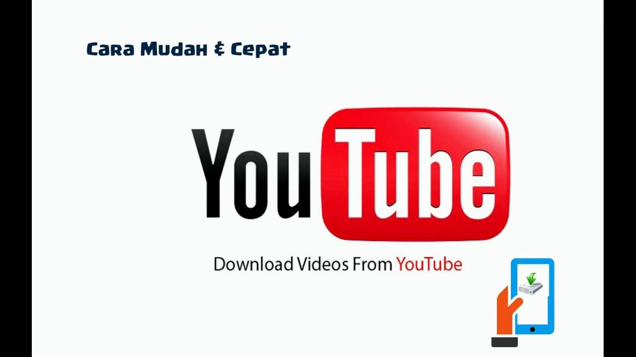 Cara cepat dan ampuh download video youtube dengan cepat dan mudah.