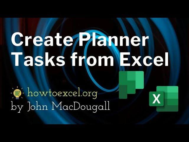 Automatically Create Planner Task from Excel