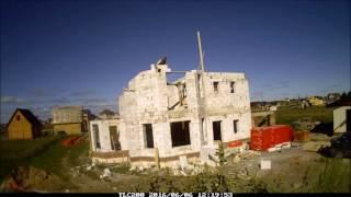 видео Строительство домов из газобетона в СПБ и ЛО