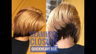 Seamless Closure Quickweave Bob