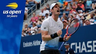 Andy Murray Gets Grand Slam Groove Back vs. James Duckworth At The US Open