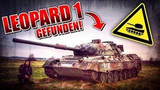 PANZER gefunden - LEOPARD 1 Militär Schrottplatz mit M47 - LOST PLACES | Fritz Meinecke