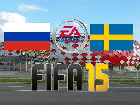 ★Russland - Schweden★ [Länderspiel] [EM - Qualifikation] [2015]