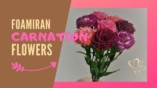 Carnation Flower | Easy Foamiran flower for Mother