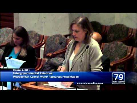 October 9, 2014 Intergovernmental Relations Committee Meeting