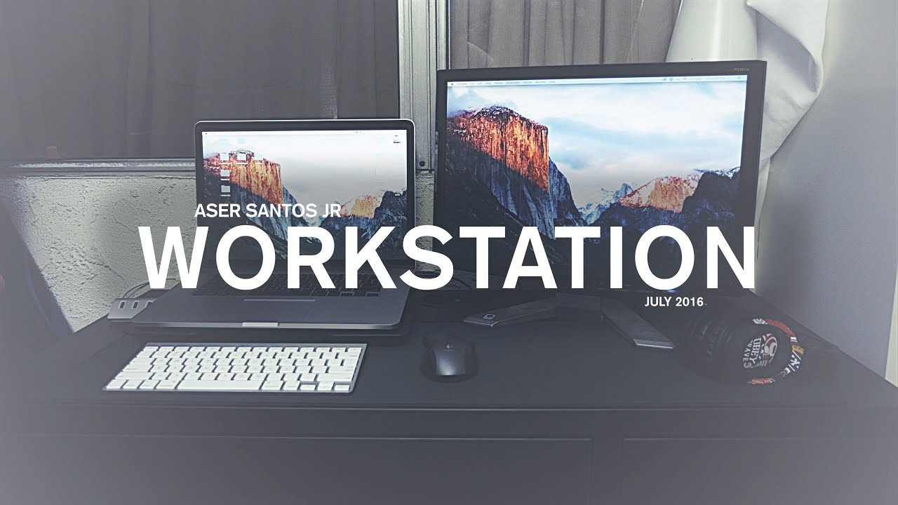- Photographer & Videographer Desk Setup On A Budget!! July 2016 - YouTube