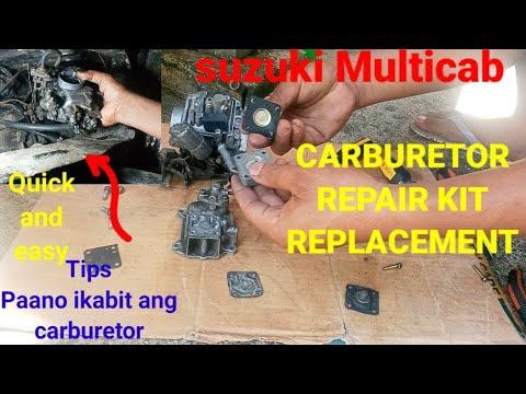 SUZUKI MULTICAB/CARBURETOR REPAIR KIT REPLACEMENT by DIY BOY MR.BATE